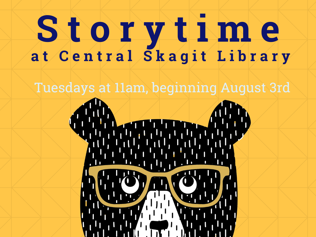 Storytime at Central Skagit Library