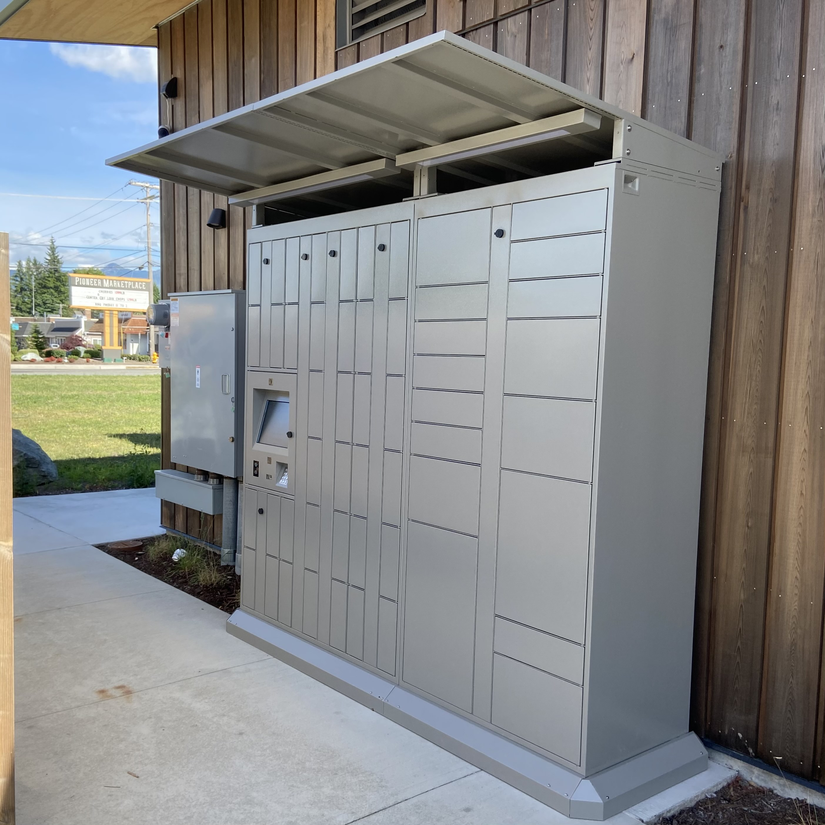 After-hours library lockers